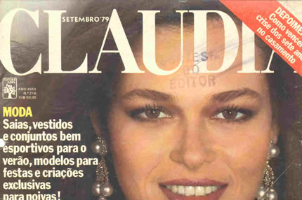 Cover of the commemorative edition of 18 years of the Claudia Magazine